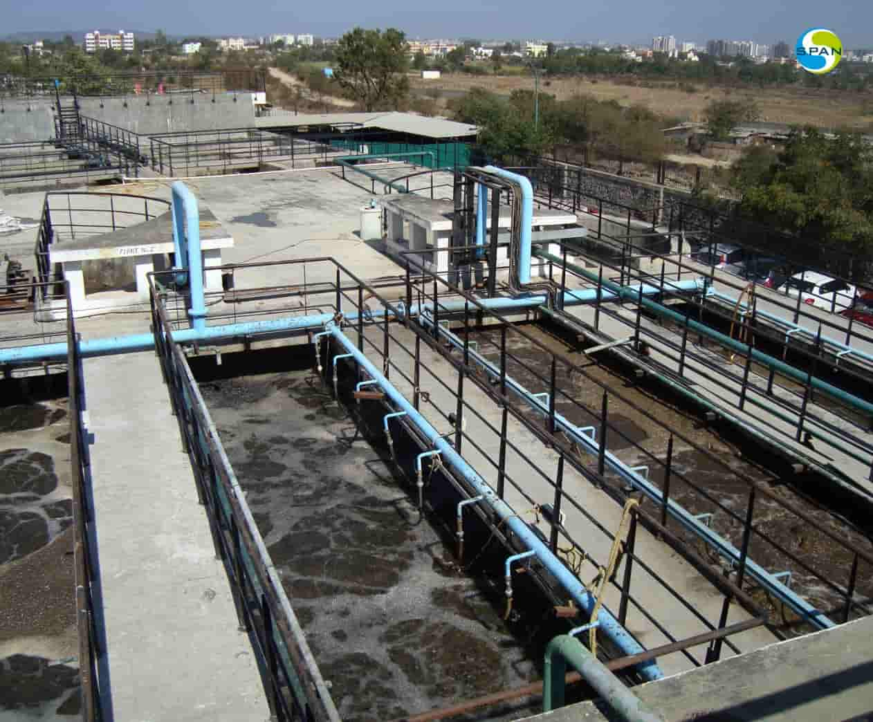 Activated Sludge Process is very simple and naturally efficient sewage treatment process. The ASP is more resilient to shock pollutant loads.
