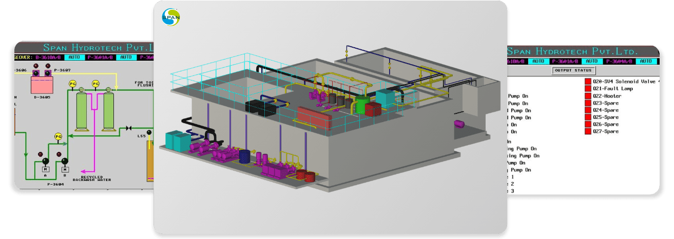 We provide all the designs, fabrication and automation for all water and wastewater treatment needs