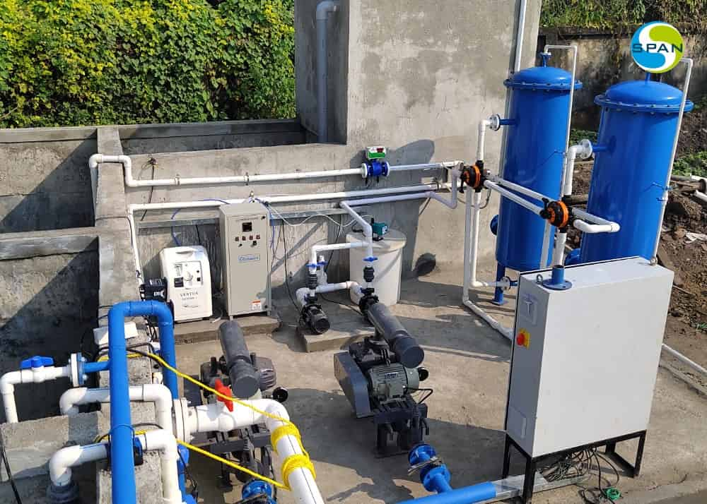 All Span water and wastewater treatment systems work great as standalone systems. They are even powerful when used together.