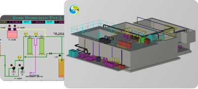 We provide all the designs, fabrication and automation for all water and wastewater treatment requirements.